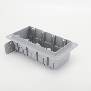 SLH-4 4 GANG PLASTIC BOX