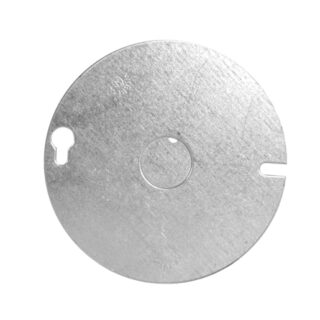 54C6 4 Inch FLAT ROUND COVER